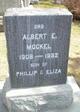 Profile photo:  Albert E. Mockel