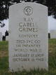 Ray Cabell Grimes