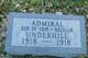 Profile photo:  Admiral Underhill