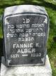 Fannie K Alder
