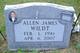 Profile photo:  Allen James Wildt
