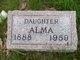 Profile photo:  Alma Beaver