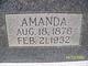 Amanda <I>Nettles</I> Alderman