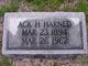 Profile photo:  Ack H. Harned