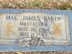 Eula Mae <I>James</I> Baker