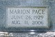 Marion Pace Williams