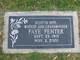 Lena Faye <I>Kirkpatrick</I> Fenter