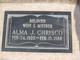 Alma J <I>Stringer</I> Chrisco