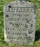Elizabeth <I>Ward</I> Fox
