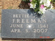 Bettie Jean Freeman