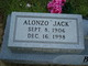 "Profile photo:  Alonzo ""Jack"" Britt"