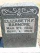Elizabeth Forrester <I>McDonald</I> Barmore