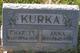 Anna <I>Jurgeleit</I> Kurka