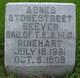 Profile photo:  Agnes Stonestreet <I>Rinehart</I> Beever