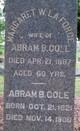 Profile photo:  Abram Bond Cole
