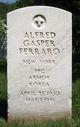 Profile photo: PFC Alfred Gasper Ferraro