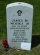 Sgt James Matthew Wosika, Jr