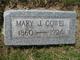 Mary Jane <I>Hughes</I> Cowel