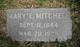 Mary Elizabeth <I>Cowan</I> Mitchell