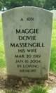 Profile photo:  Maggie Dovie Massengill