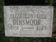Elizabeth <I>Cole</I> Dinsmoor