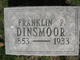 Franklin P. Dinsmoor
