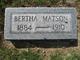 Bertha Ann <I>Cowel</I> Matson