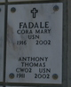 "Anthony Thomas ""Tony"" Fadale"