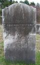 Profile photo:  Abigail <I>Pickering</I> Thayer