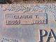 Claude T Parrish