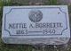 Nettie A <I>Bangham</I> Borrette