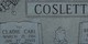 "Cladie Carl ""Pat"" Coslett"