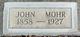 John Mohr