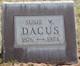 Susie W <I>Parrish</I> Dacus
