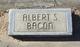 Albert Sylvester Bacon