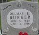 Profile photo:  Delmas Eugene Burker