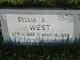 Sylvia Ann <I>Child</I> West