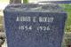 Profile photo:  Annis Elizabeth <I>Smith</I> Bixby