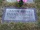 Anna Belle <I>Evans</I> Stoner
