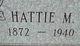Hattie Margarite <I>Schroeder</I> Allen