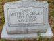 Milton C Geiger