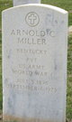 "Arnold Curtis ""Curt"" Miller"