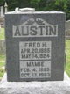 Profile photo:  Mamie <I>Bilderback</I> Austin