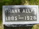 Profile photo:  Frank Allyn