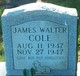 James Walter Cole