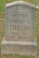 Annie L Dixon