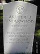 Pvt Arthur J. Underwood