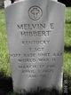 Melvin E Hibbert