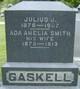 "Profile photo:  Ada Amelia ""Addie"" <I>Smith</I> Gaskell"