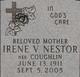 Irene V. <I>Coughlin</I> Nestor